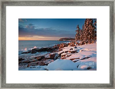 Acadian Winter Framed Print