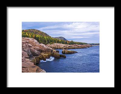 Acadia National Park Framed Prints