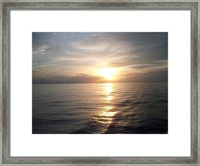 Acapulco Sunset Framed Print by Janet  Hall