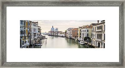 Accademia Bridge Framed Print