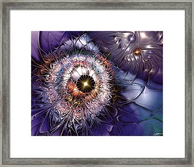 Accelerating The Process Within Framed Print by Casey Kotas