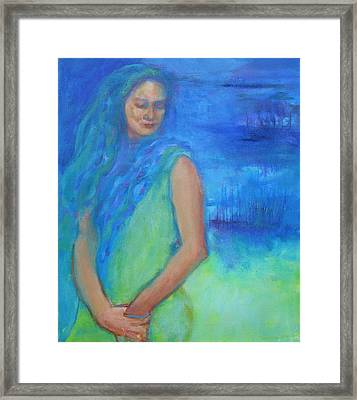 Acceptance Framed Print by Jessica Stride