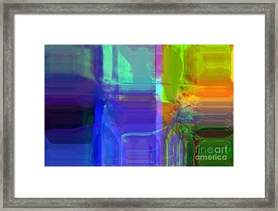 Accepting Beauty Framed Print