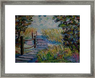 Access Granted Framed Print