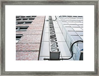 Access Ladder Framed Print