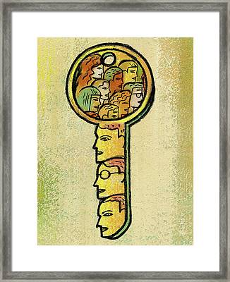 Access Framed Print