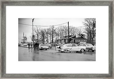 Accident 1 Framed Print