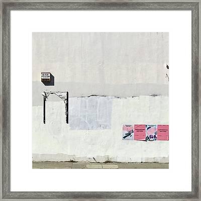 Accidental Art Framed Print