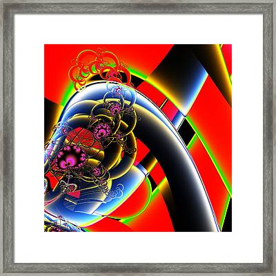 Accidental Occurrence Framed Print by Solomon Barroa