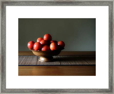 Accidental Still Life. Framed Print