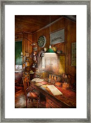Accountant - Tax Season Again Framed Print