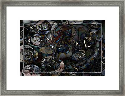 Accounting Grind Framed Print