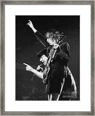 Acdc-96-angus-brian-0116 Framed Print
