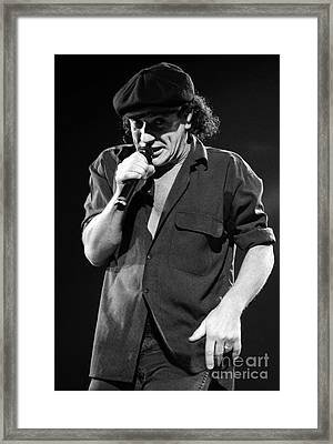 Acdc-96-brian-0073 Framed Print