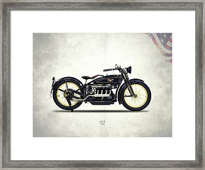 Ace Motorcycle 1920 Framed Print