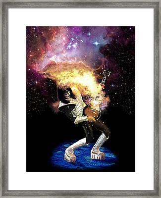 Ace Nebula Framed Print