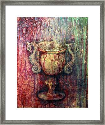 Ace Of Cups Framed Print