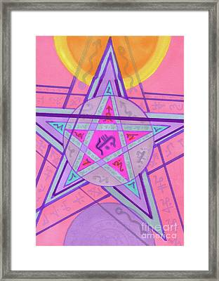 Ace Of Solomon Framed Print