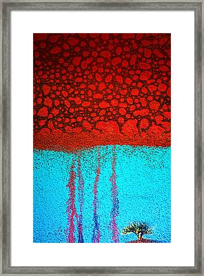 Acid Rain Framed Print by Tara Turner