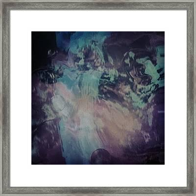 Acid Wash Framed Print