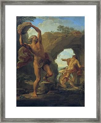 Acis And Galatea Framed Print by Pompeo Batoni