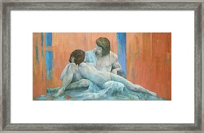 Acis And Galatea Framed Print by Steve Mitchell