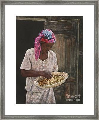 Acklins Corn Framed Print