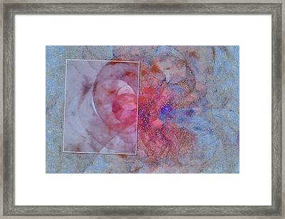 Acknowledgement Distribution  Id 16102-150820-28441 Framed Print by S Lurk