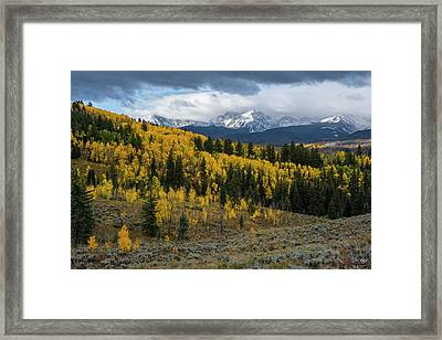 Framed Print featuring the photograph Acorn Creek Autumn by Aaron Spong