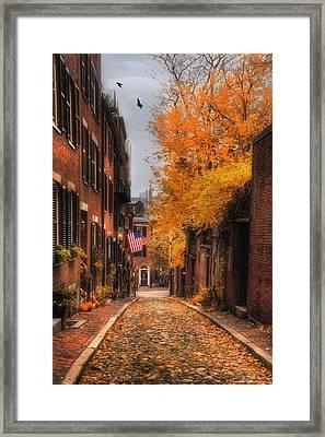 Acorn St. Framed Print