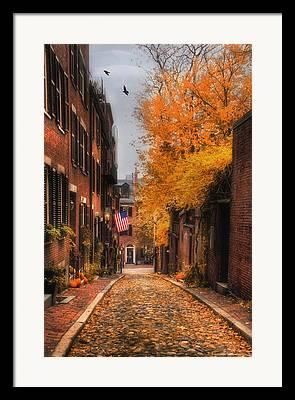 Autumn Scene Framed Prints