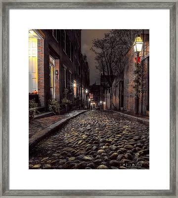Acorn Street Framed Print
