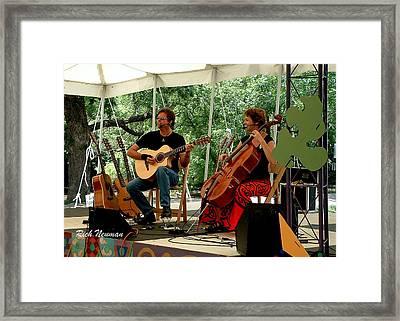 Acoustic Eidolon Framed Print