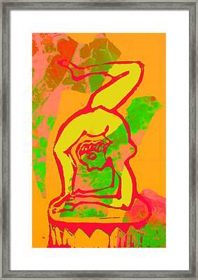 Acrobat 1 Framed Print by Adam Kissel