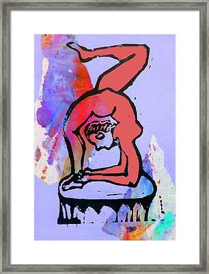 Acrobat 5 Framed Print by Adam Kissel