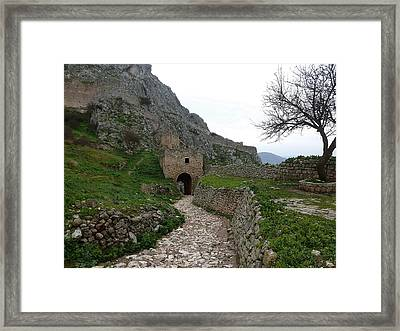 Acrokorinth Framed Print