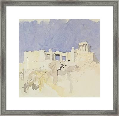 Acropolis   Athens Framed Print