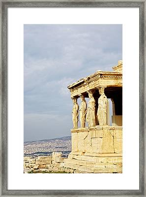 Acropolis Of Athens Framed Print by HD Connelly