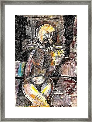 Across Framed Print by Al Goldfarb