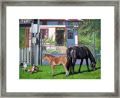across Bulgaria 7 Framed Print by Stoian Pavlov