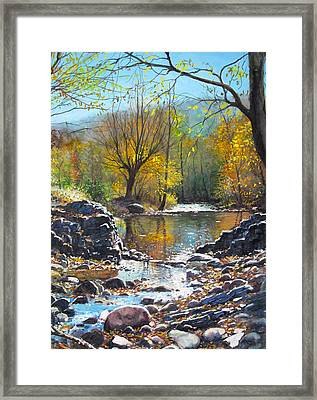 across Bulgaria 8 Framed Print by Stoian Pavlov