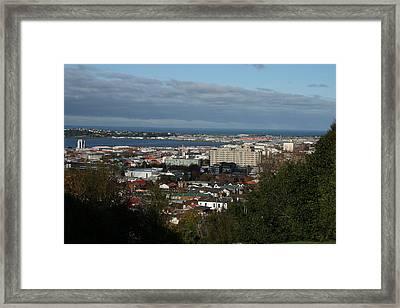 Across City To South Dunedin Framed Print