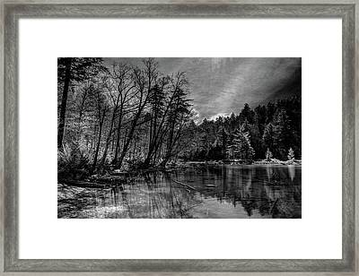 Across From 7th Lake Framed Print by David Patterson