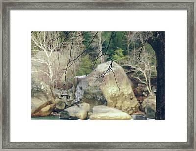 Across From Eagle Falls Framed Print