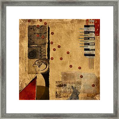 Across The Board Framed Print by Carol Leigh