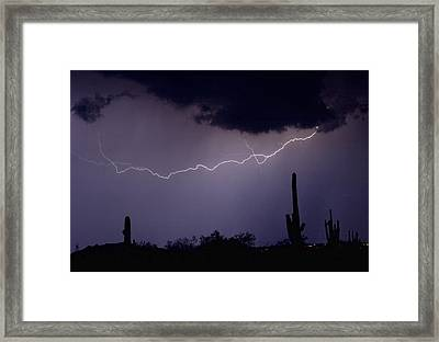 Across The Desert Framed Print by James BO  Insogna
