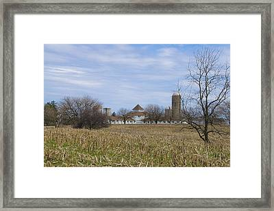 Across The Field - Norristown Farm Park  Framed Print