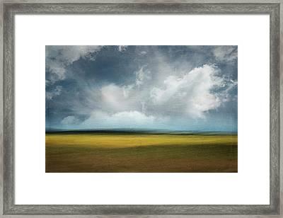 Across The Marsh Framed Print