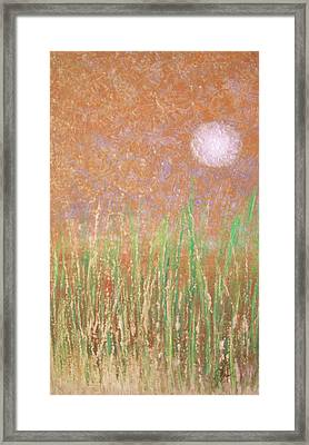 Across The Marsh Framed Print