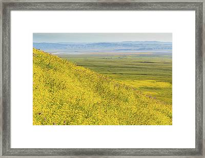 Framed Print featuring the photograph Across The Plain by Marc Crumpler